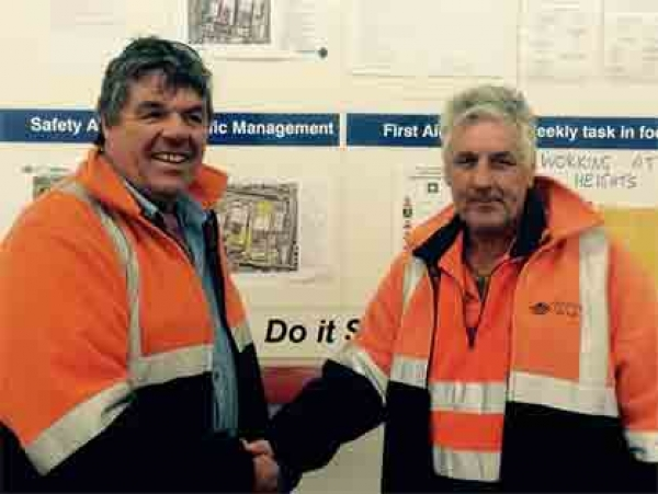 Safety Reward & Recognition Program Winner for April 2015 Announced at Preston
