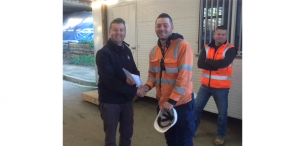 Safety Winner for August Announced at Preston