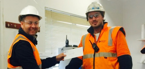 Safety Reward & Recognition Program Winner for June Announced at Preston